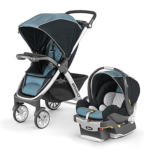 Chicco Bravo Trio Travel System in Blue