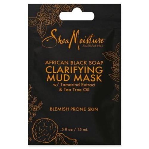 SheaMoisture .5 oz. African Black Soap Clarifying Mud Mask Packet
