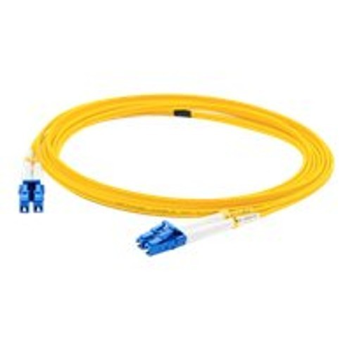 AddOn Networks 40m Single-Mode fiber (SMF) Duplex LC/LC OS1 Yellow Patch Cable (ADD-LC-LC-40M9SMF)
