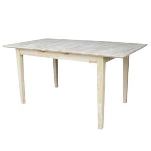 International Concepts Unfinished Dining Table
