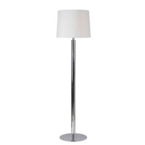 Kenroy Home Milano 62 in. Chrome Floor Lamp