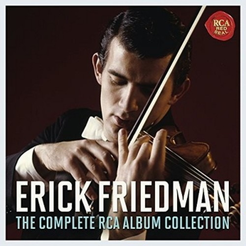 J.S. Bach & London Symphony Orchestra - Erick Friedman: The Complete RCA Album Collection (CD)
