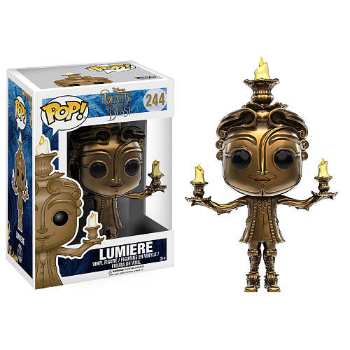 Funko POP! Disney: Beauty and the Beast 3.75 inch Vinyl Figure - Lumiere