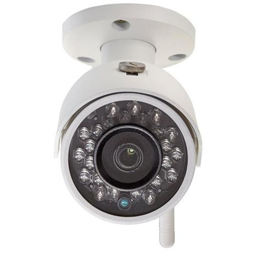Q-See 3MP/1080p High Definition Wi-Fi Bullet Security Camera, 16GB SD Card