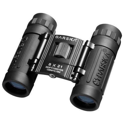 Barska - Lucid View 8 x 21 Compact Binoculars