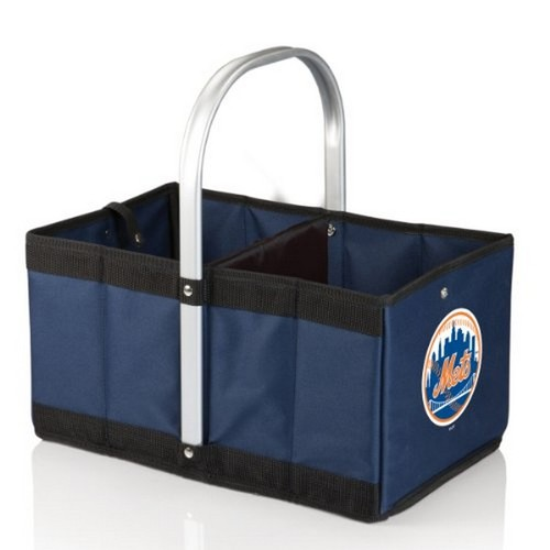 Picnic Time New York Mets-Urban Basket By Picnic Time Navy