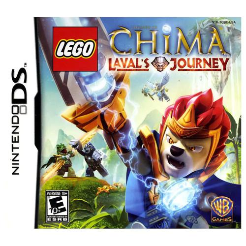 LEGO Legends of Chima: Lavals Journey Nintendo DS Video Game