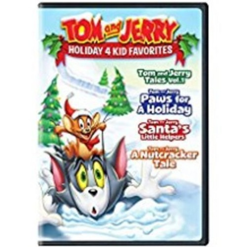 Tom and Jerry: Holiday 4 Kid Favorites [DVD]
