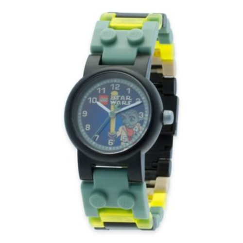 LEGO Star Wars Yoda Buildable Watch with Minifigure