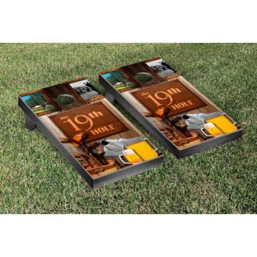 Victory Tailgate Golf The 19th Hole Cornhole Game Set