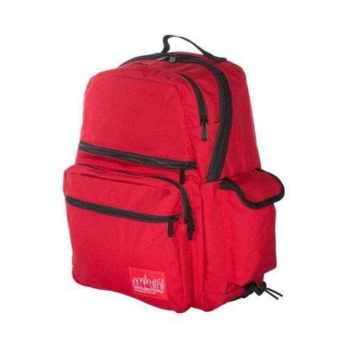 Manhattan Portage Ken's Backpack (Medium) Red