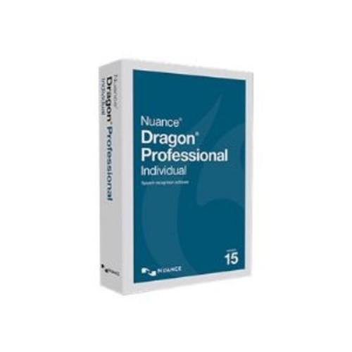 Dragon Professional Individual - (v. 15) - box pack - 1 user - DVD - Win - US English