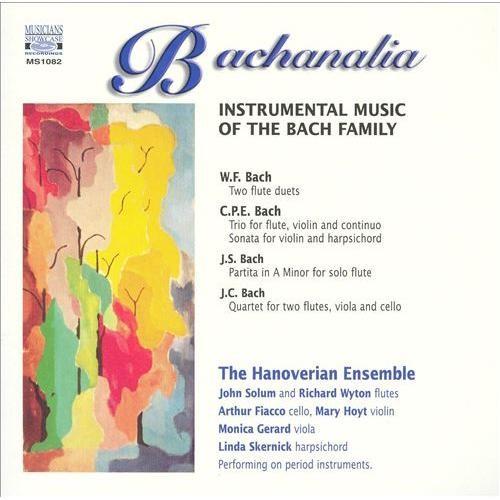 Bachanalia Instrumental Music Of Bach CD (2002)