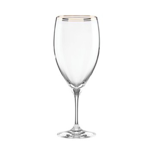 Orleans Square Gold Iced Beverage Glass