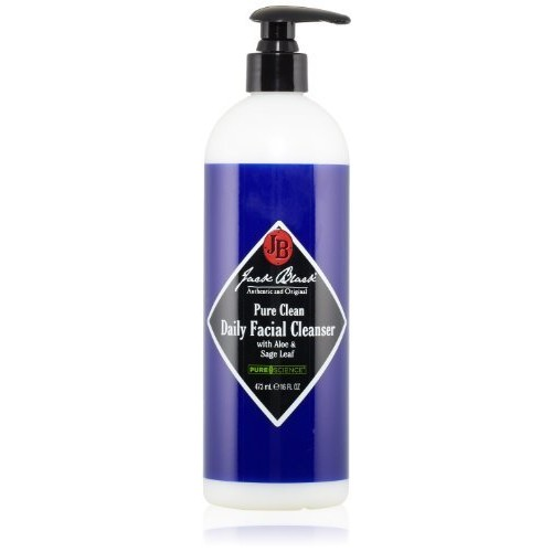Jack Black Pure Clean Daily Facial Cleanser [16 fl. oz.]