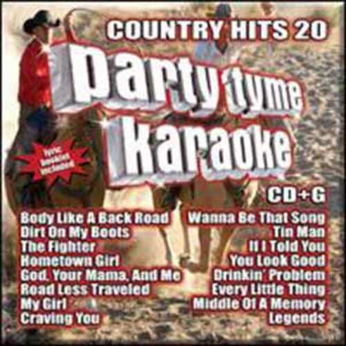 Party Tyme Karaoke: Country Hits 20 [Audio CD]