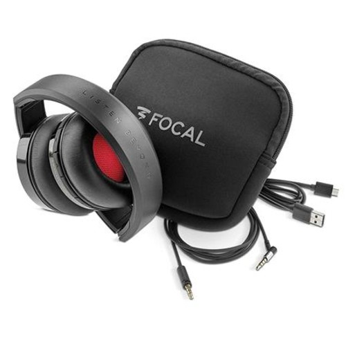 Focal Listen Wireless Circum-Aural Closed-Back Ear-Cup Headphones with Mic