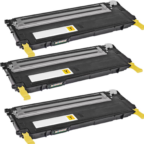 Samsung CLT-Y407S Yellow Compatible toner Cartridge For CLP-CLP-320/325 ( Pack of 3 )