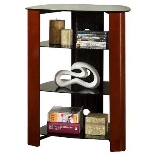 Multi-Level Glass And Wood Component Stand - Espresso (35\