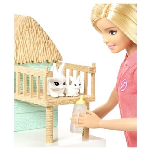 Barbie Careers Animal Rescue Doll and Playset
