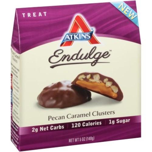 Atkins Endulge Pecan Caramel Clusters, 1oz, 5-pack (Treat)