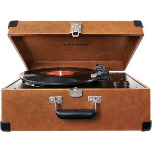 Crosley Deluxe Keepsake Turntable [MODEL : TAN]