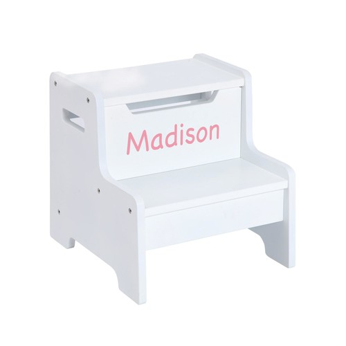 Guidecraft Expressions Step Stool White
