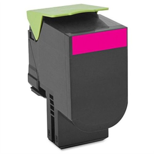 Lexmark 701M Magenta Return Program Toner Cartridge - Magenta, Toner, Up To 1000 Pages, Works With Lexmark CS310dn, CS