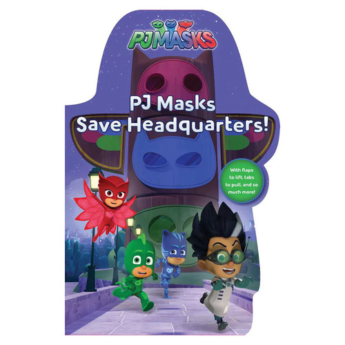PJ Masks Save Headquarters! Book