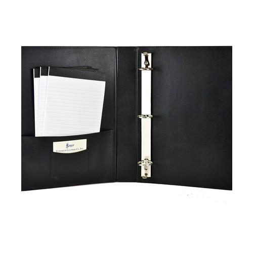 Executive Document Organizer by Royce Leather | black | Gilt