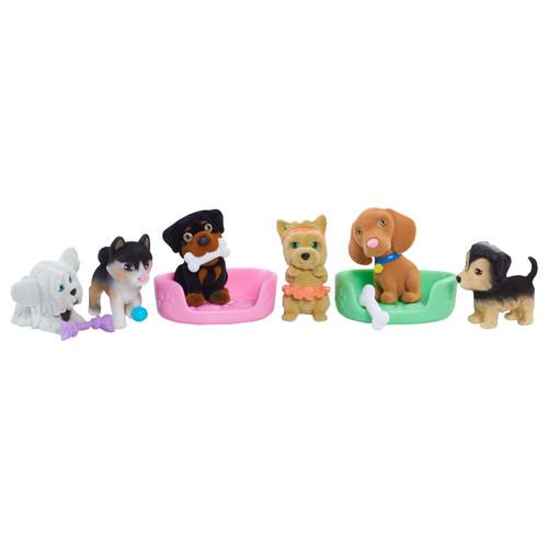Puppy in My Pocket Figures Set - 10-piece