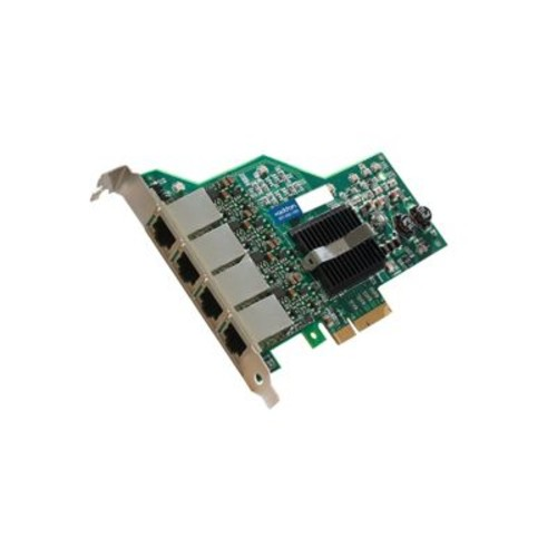 AddOn ADD-PCIE-4RJ45 Quad RJ45 Port Gigabit Ethernet x4 Network Interface Card For IBM 90Y9352