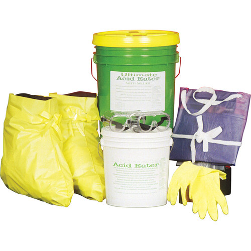 Ultimate Acid Eater Safety Spill Kit  5-Gal. Pail,