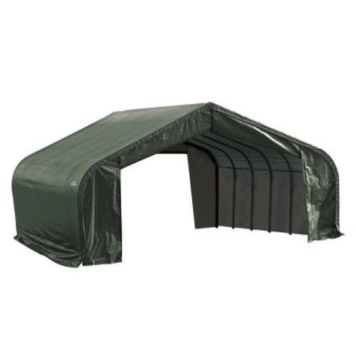 ShelterLogic 22'x24'x10' Peak Style Shelter in Green