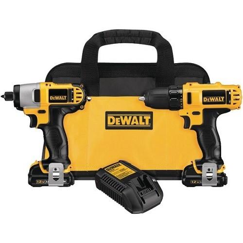 DeWALT DEWDCK211S2Y 12-Volt Max Drill/Driver and Impact Driver Combo Kit DEWALT DCK211S2 12-Volt Max Drill/Driver and Impact Driver Combo Kit