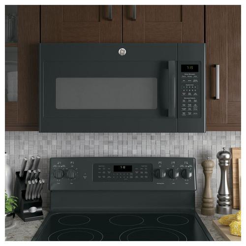 GE Series 1.9-cubic Feet Over-the-range Sensor Microwave Oven