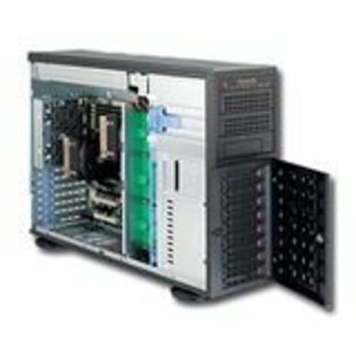 Supermicro SuperServer SYS-7046T-3R Dual LGA1366 Xeon 4U Rackmount/Tower Server Barebone System (Black)