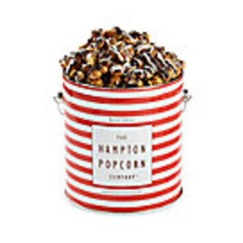 White & Dark Chocolate Swirl Popcorn