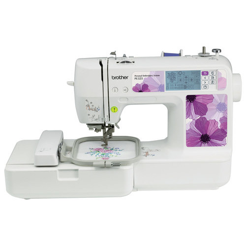 Brother - Embroidery Machine - White/Purple