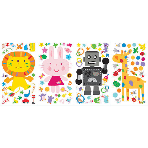 Lazoo Peel and Stick Wall Decals