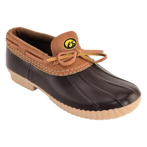 Women's Iowa Hawkeyes Low Duck Step-In Shoes