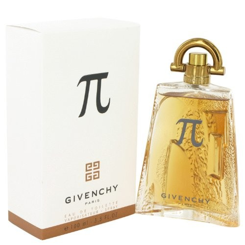Givenchy Pi Cologne Eau de Toilette Spray for Men, 3.4 Ounce [3.3 oz]