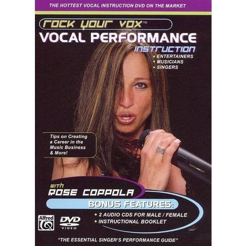 Rock Your Vox: Vocal Performance [DVD/2 CDs] [DVD]
