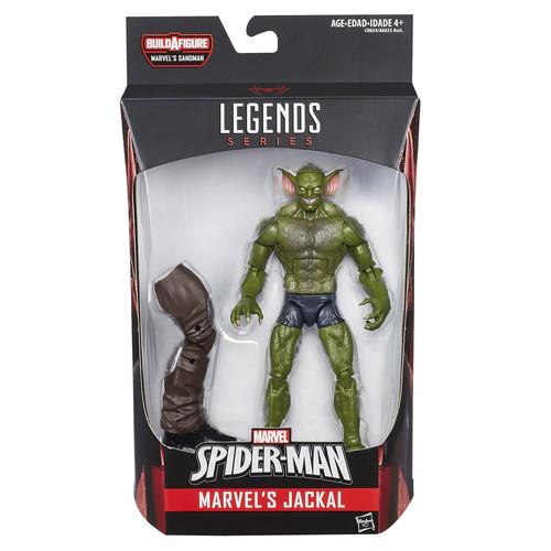 Marvel,Disney,Hasbro Marvel Spider-Man Legends Series 6-inch Action Figure - Marvel's Jackal