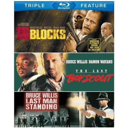 Bruce Willis Triple Feature: (The Last Boy Scout / Last Man Standing / 16 Blocks)