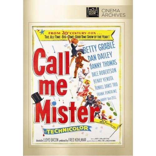 Call Me Mister [DVD] [1951]