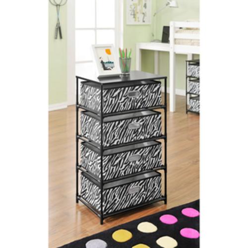 Altra Zebra 4-Bin Storage/ End Table