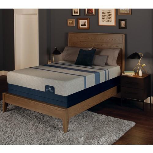 Serta iComfort Blue Max 1000 Plush Cal King Mattress Set