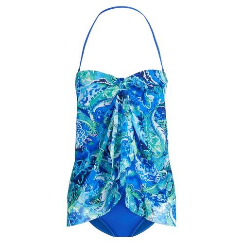 Paisley One-Piece Swimsuit