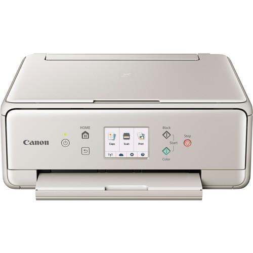 Canon - PIXMA TS6020 Wireless All-In-One Printer - Gray